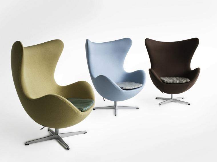 cojines contrastes estilos muebles rayas