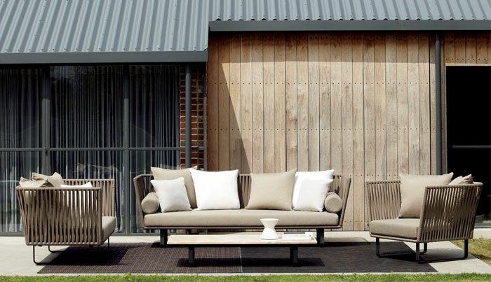 mobiliario terrazas salas estilos grises