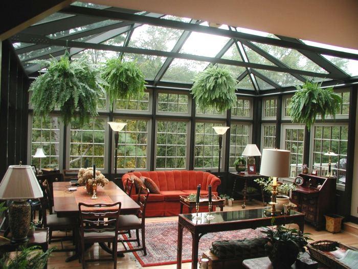 colgantes plantas macetas estilos sofa