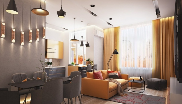 color amarillo apartamento gris amarillo ideas