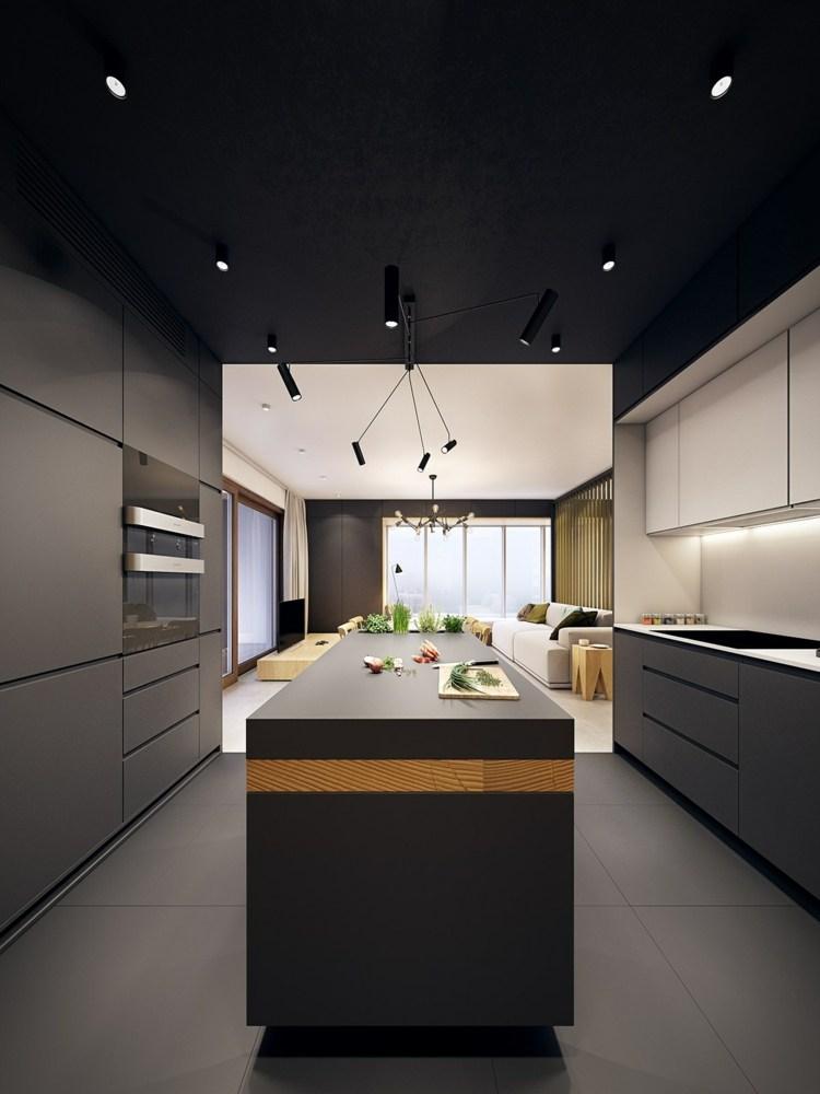 color turquesa funcional cocinas muestras lineas