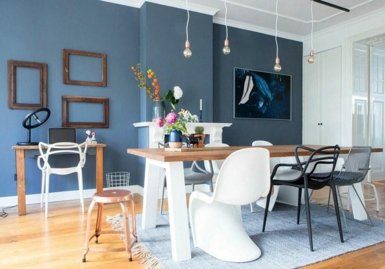 color azul paloma parede