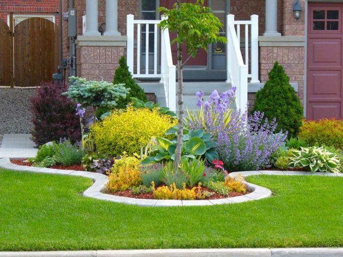 Bordillos para jardin definiendo espacios coloridos y naturales - Bordillos de plastico para jardin ...