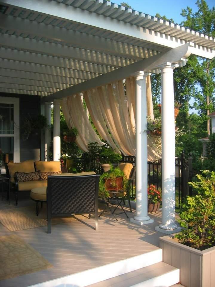 columnas blancas sofa conceptos sentidos