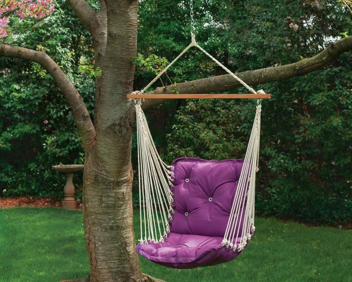 Sillon columpio jardin fabulous silla colgante columpio - Columpios para jardin ...