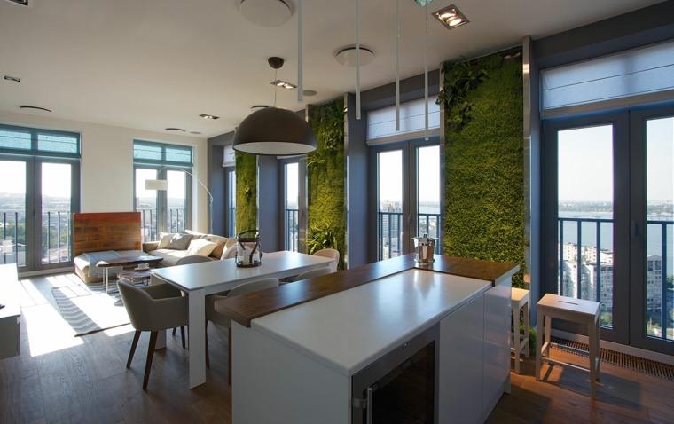 Jardines verticales ideas interesantes para el interior for Jardin vertical cocina