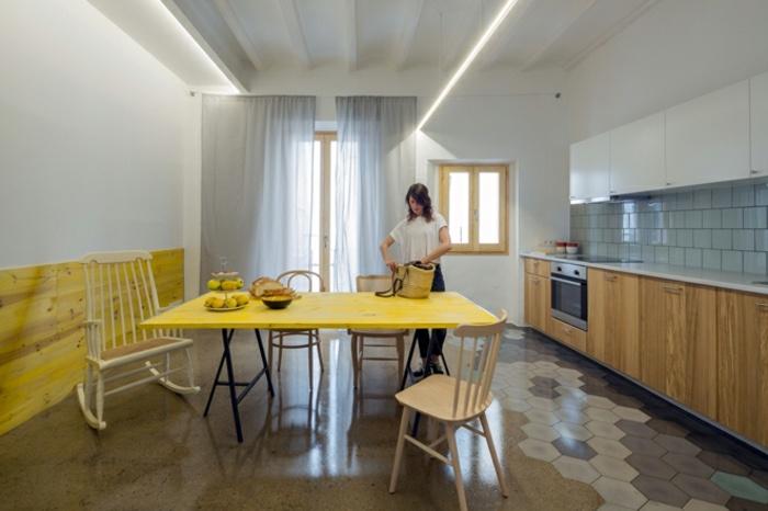 comedor cocina diseño moderno
