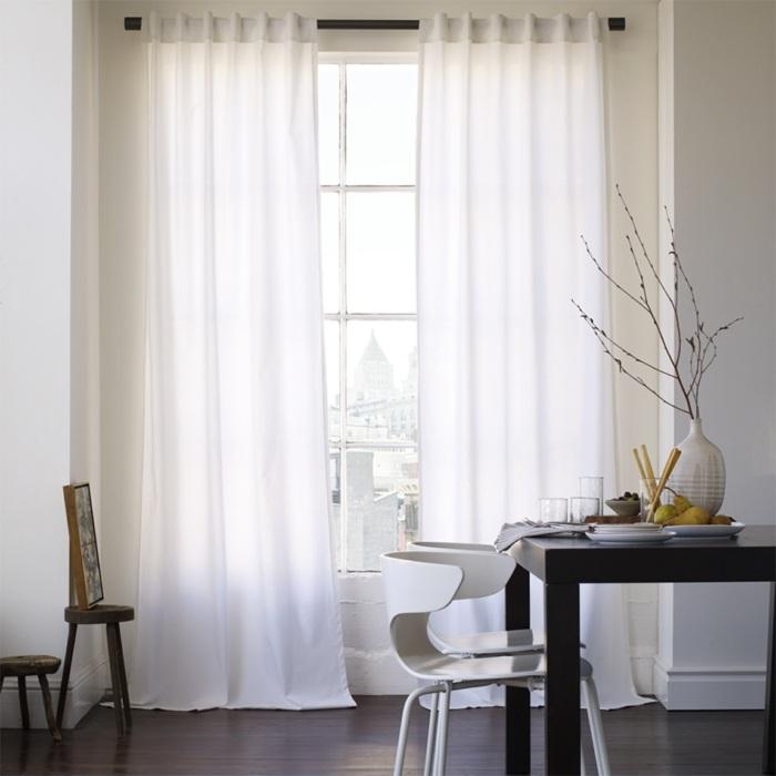Cortinas modernas 75 ideas que enriquecen el hogar for Ver cortinas de comedor