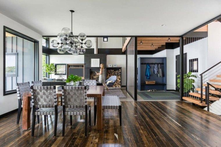 comedor moderno muebles originales estilo ideas