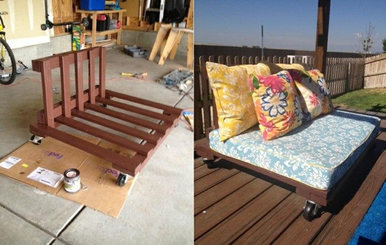 Decoracion con palets ideas para muebles de dise o casero - Como hacer un sillon de madera ...