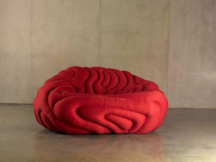 conceptos muebles sillones estilos futurista