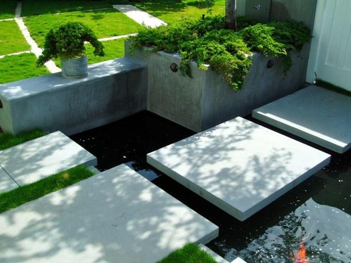 contemporary fountains gardens museums trails