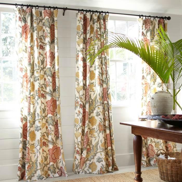 cortinas coloridas estampa moderna original ideas