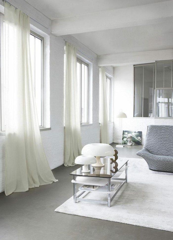 cortinas modernas enriquecen hogar blancas clasicas ideas
