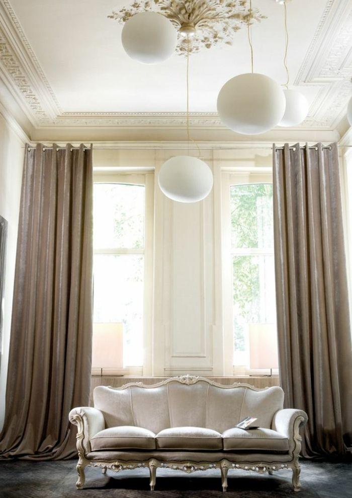 cortinas modernas enriquecen hogar chic beige ideas