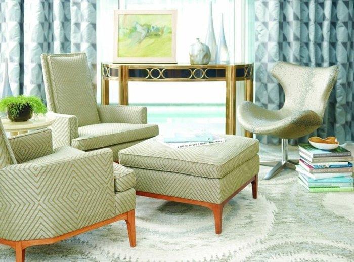 cortinas modernas enriquecen hogar colores pastel ideas