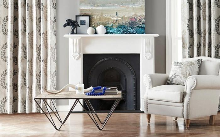 cortinas modernas enriquecen hogar diseno floral ideas