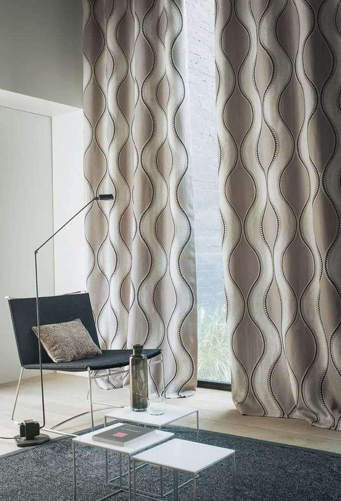 cortinas modernas enriquecen hogar elegante beige ideas