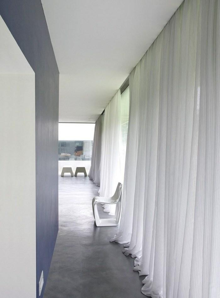 cortinas modernas enriquecen hogar espacios estrechos ideas