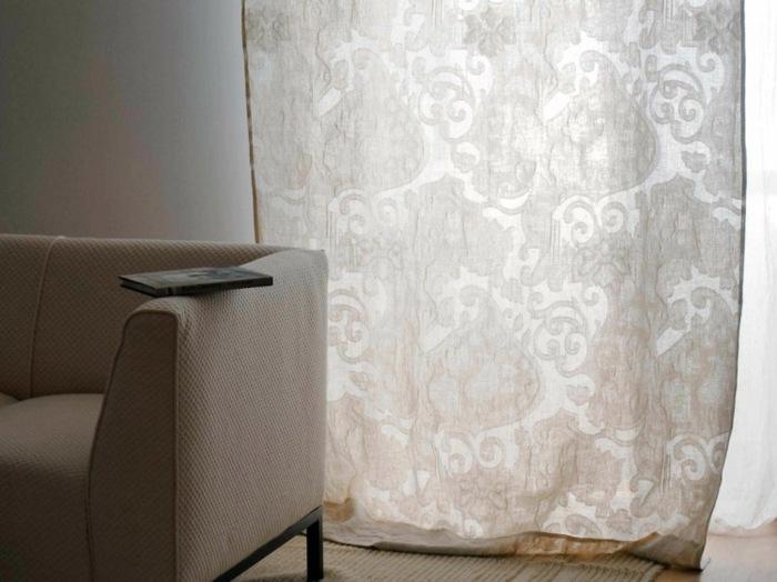 cortinas modernas enriquecen hogar estilo barroco ideas