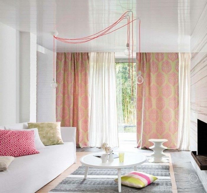 cortinas modernas enriquecen hogar exoticas ideas