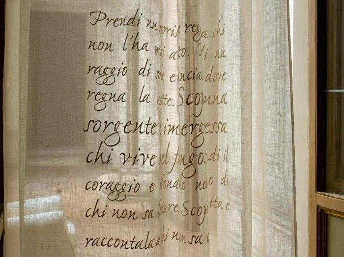 cortina moderna enriquecen hogar letras ideas