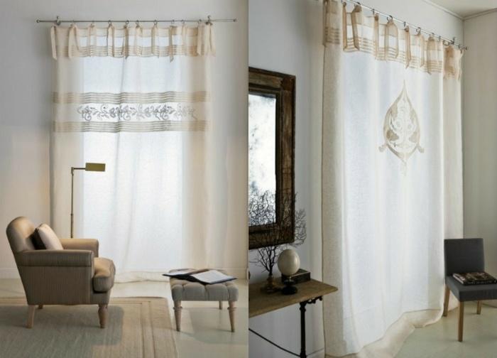 cortina moderna enriquecen hogar tradicionales ideas