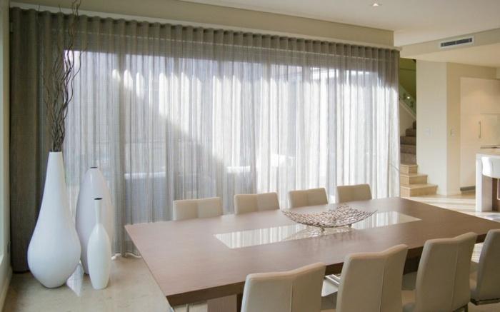 Cortinas modernas 75 ideas que enriquecen el hogar - Cortinas para el sol ...