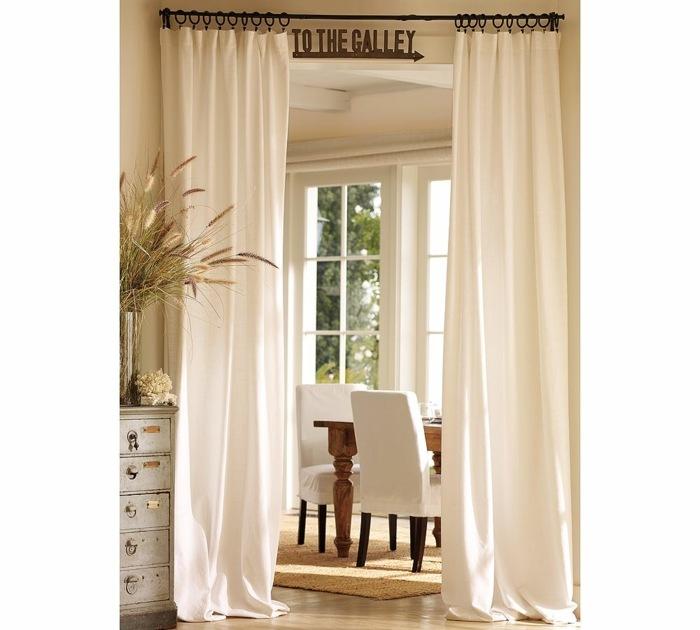 cortinas opciones separa espacios casa ideas
