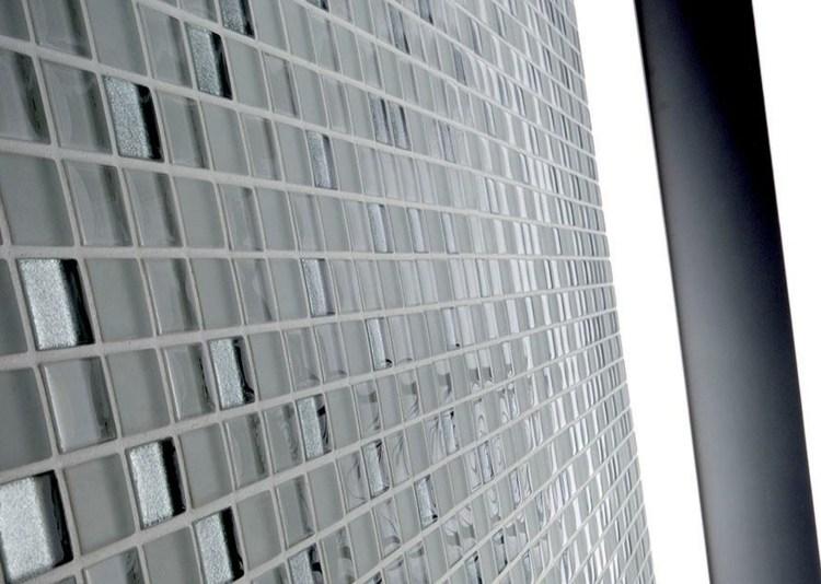 cristales transparentes mosaicos originales diseño