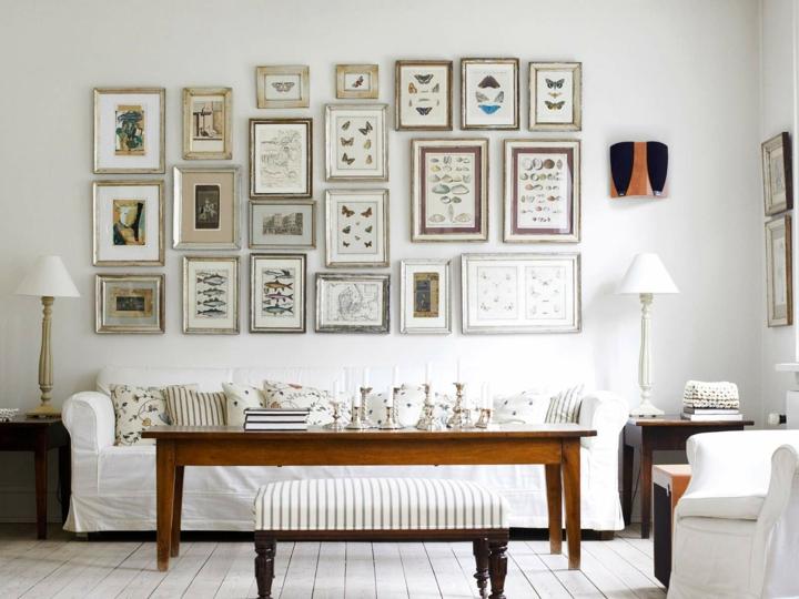 cuadros paredes condiciones elementos mariposas
