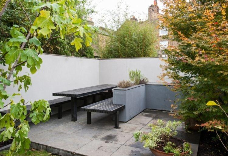 patio terraza estilo minimalista