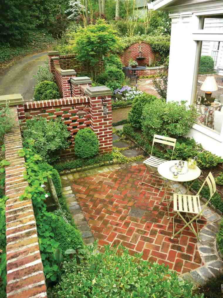 decoración terraza estilo clásico