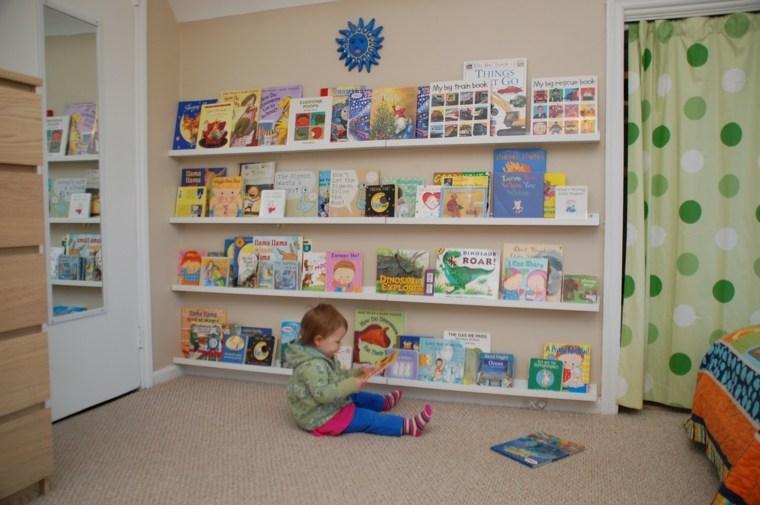 decoración mueble estantes infantil