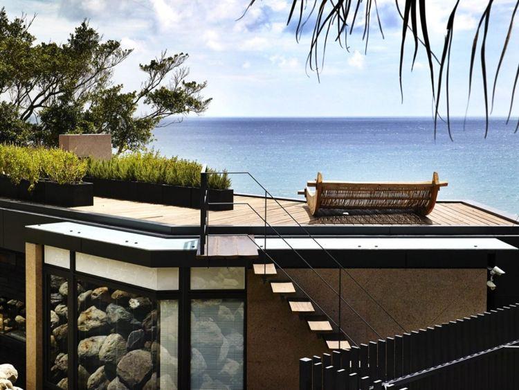 decoración terraza azotea moderna