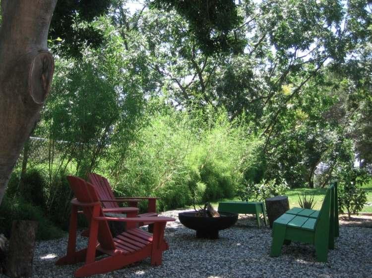 Decorar jardines rusticos ideas decorativas con piedra y madera for Juegos de jardin rusticos