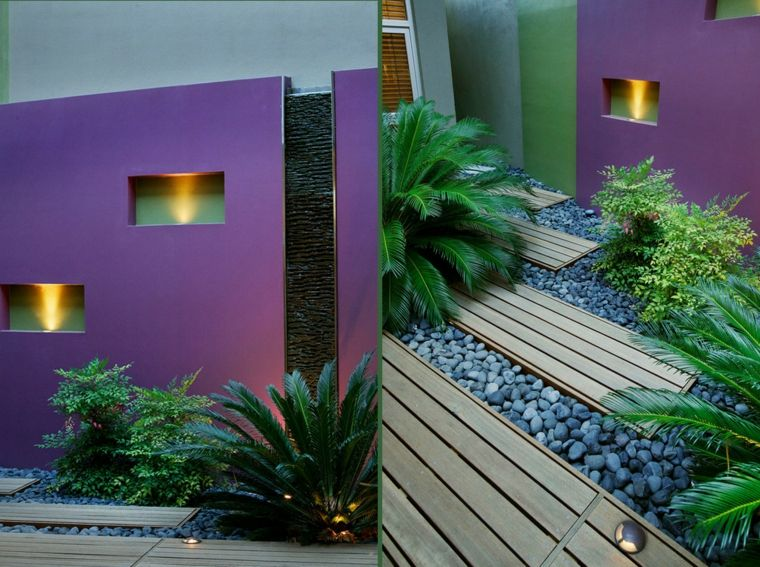 Dise o de patios y jardines peque os 75 ideas interesantes for Jardines pequenos ideas de decoracion