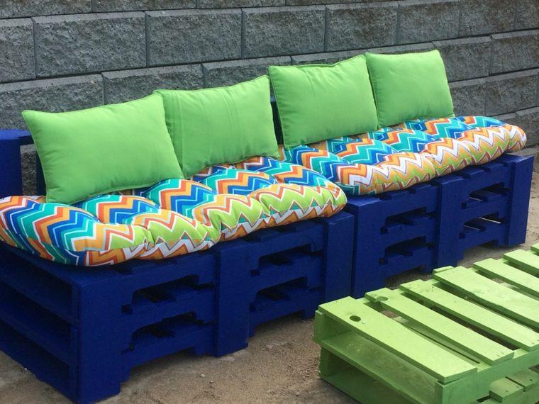 Decoracion con palets ideas para muebles de dise o casero - Muebles hechos con estibas ...