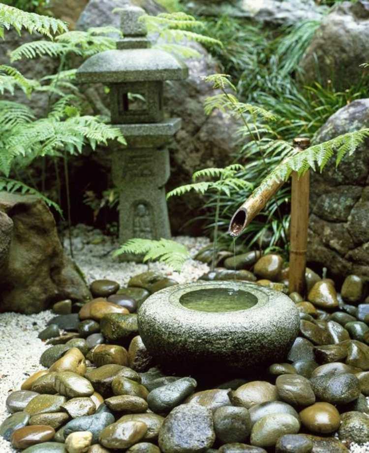 decoracion de jardines diseno asiatico bambu baldos grandes ideas