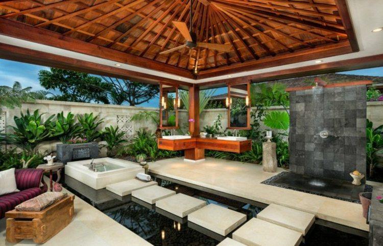 Decoracion de jardines 65 dise os asi ticos cultivadores - Decoracion para jardines exteriores ...