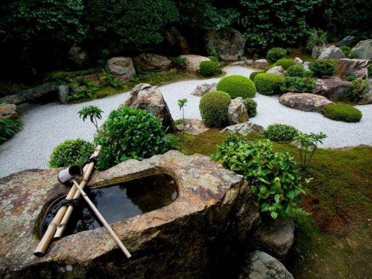 decoracion jardines diseno asiatico original ideas