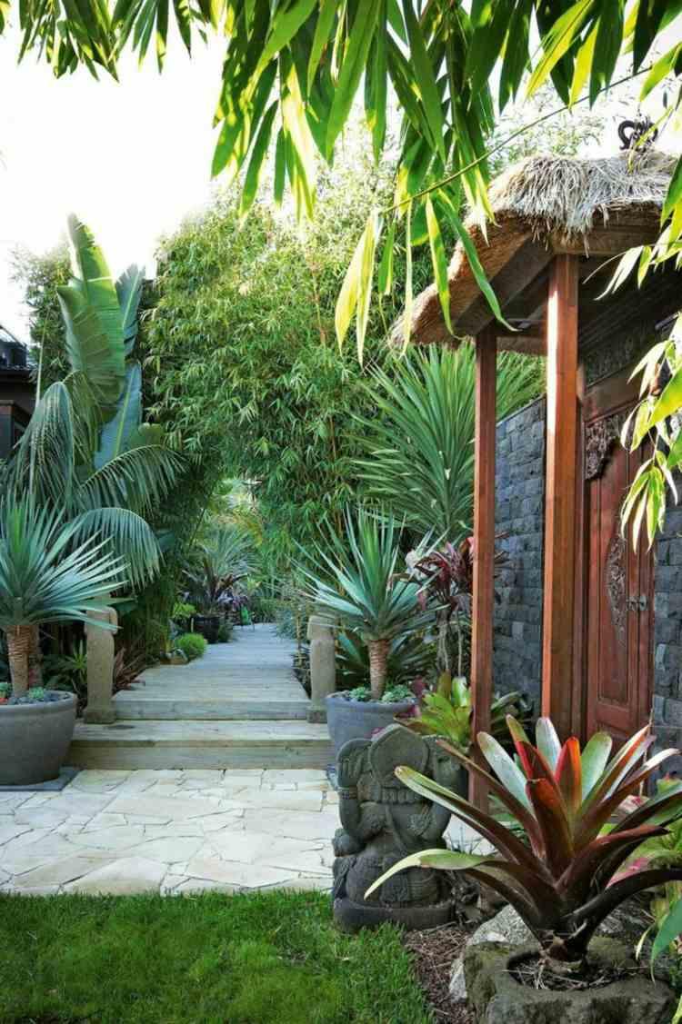 decoracion jardines diseno asiatico zen contemporaneo ideas