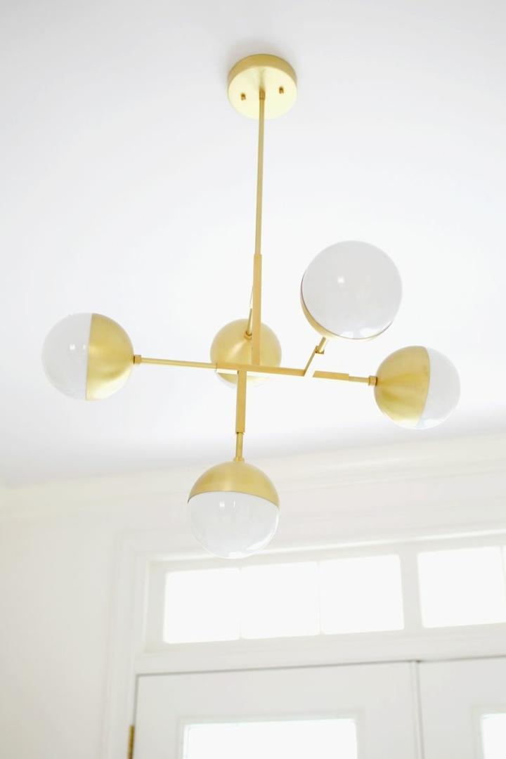 decoracion detalles frecuencias dorados luminarias