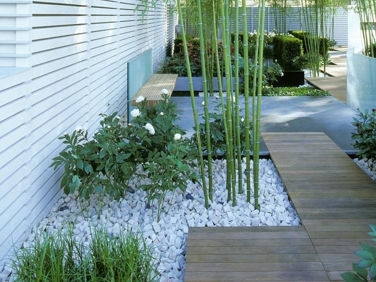 decoracion jardin diseno asiatico contemporaneo baldos ideas