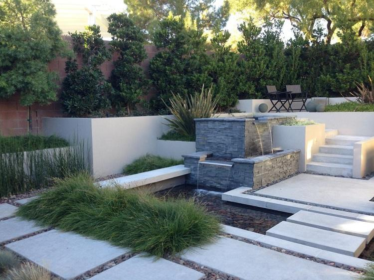 decoracion jardin diseno asiatico residencia ideas