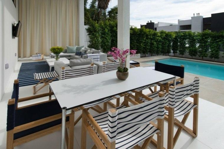decoracion terraza diseno contemporraneo moderno ideas