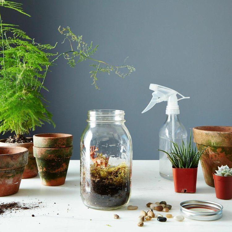 Decorar con manualidades de primavera 50 ideas for Diseno de jardines caseros
