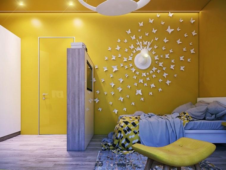 decorar paredes habitacion nino creativa ideas
