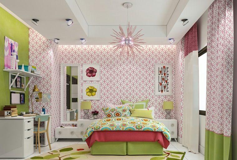 decorar paredes habitacion nino papel pared precioso ideas