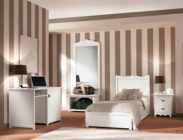 decorar paredes habitacion nino pared rayas ideas
